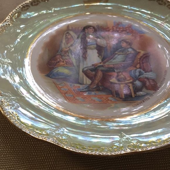 Early 1900 CONVERTED TO THE CHRISTIAN FAITH Plate